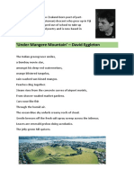 poem under mangere mountain by david eggleton
