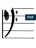 Large Bass Clef