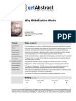 Abstract de Why Globalization Works