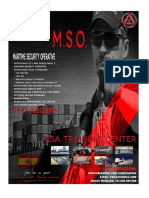 Maritime Security Operative Course