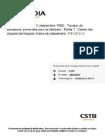DTU 13-2 Fondation Profonde Partie 1
