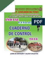 Cuaderno de Control 2018