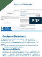 Gobierno Electronico en Guatemala