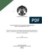 Key Sektor Dan Kebijakan Industri Di Indonesia