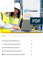 Chemicals With SAP S4HANA
