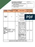 Cronograma Administracion Documental en El Entorno Laboral