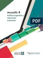 Módulo 4 - Política argentina y relaciones exteriores.pdf
