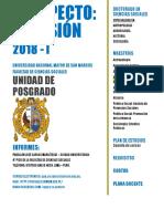 Maestría en Geografía en la Unidad de Posgrado de Ciencias Sociales de la UNMSM- Prospecto de Admisión 2018-I