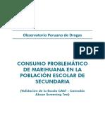 Informe Marihuana