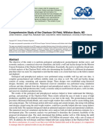 SPE Paper - Comprehensive Study of the Charlson Oil Field, Williston Basin, ND