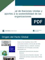 Charla Corta Bienvenidos Al Pacto Global