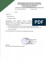 Surat Aktivasi Rekening Pip BNI
