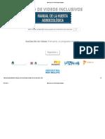 Manual de La Huerta Agroecológica