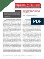 Política Pública - Salud en Bolivia - SERGIO RAMIREZ