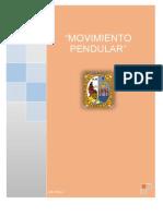 Informe 3 - Movimiento Pendular