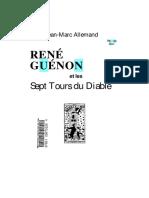 Jean-Marc Allemand - RG Et Les Sept Tours Du Diable