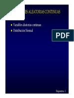 Distribucion normal - Estadistica