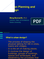 D1--Urban Planning and Design