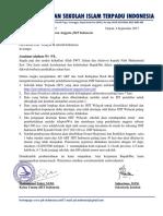 8 Surat SOP Pendaftaran Anggota Baru JSIT Indonesia