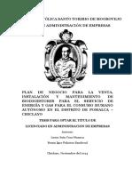 Modelo Economico Biodigestor