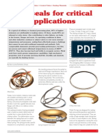Metal Seals for Valve Applications