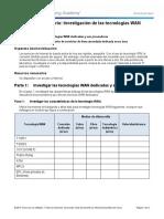 1.2.4.3 Lab - Researching WAN Technologies