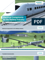 Electrical Components for the railway industry - Siemens