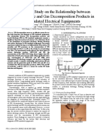 Experimental Study on the Relationship between Partial Discharge and Gas Decomposition Products in SF6 Insulated Electrical Equipments