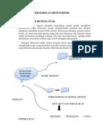 6. Permodelan Sistem Bisnis