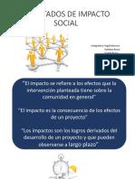 Resultados de Impacto Social