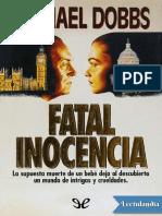 Fatal Inocencia - Michael Dobbs