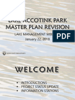 Lake Accotink Park Master Plan Revision