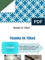Trauma Torax