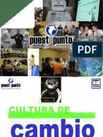 Cultura de Cambio.