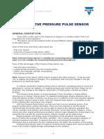Pressure Pulse Sensor osciloscopio