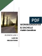 Workbook Obligations