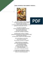 14 Ensalmos Al Arcangel San Miguel Para Dominar y Vencer Al Enemigo