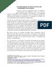 El Cambio de Paradigma en La Crítica Política de Rousseau