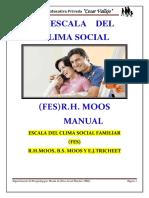 Manual de Clima Social en Familia