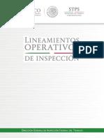 Lineamientos Operativos de Inspección