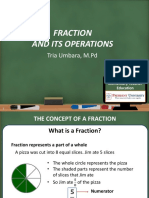 Week 6 & 7 - Fraction and Its Operations