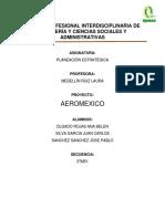 Aeromexico Politica