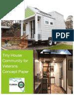 Tiny Homes Veterans Community Concept Paper