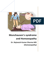 Munchausen Syndrome and Homoeopathy