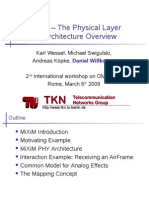 MiXiM - The Physical Layer - An Architecture Overview-Daniel-willkomm