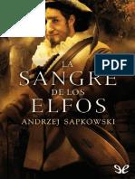 La Sangre de Los Elfos - Andrzej Sapkowski