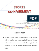 Stores Mgnt