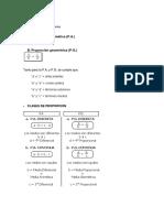 Aritmética - 3ro y 4to de Secundaria - Razones y Proporciones