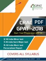 Crack Gpat 2018