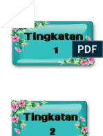 Label Tingkatan